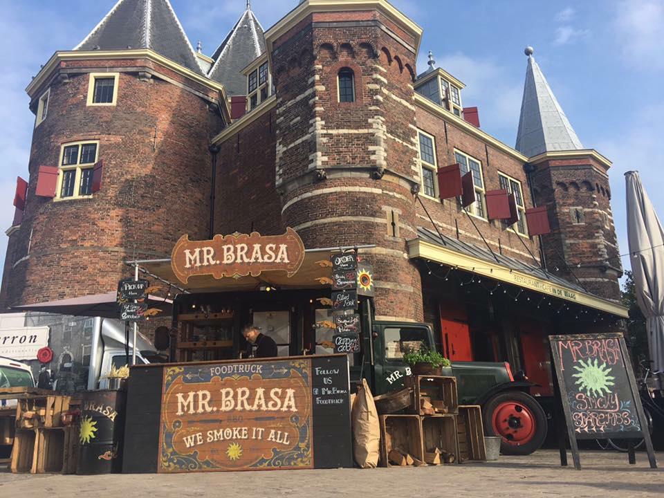 MR Brasa op De Nieuwmarkt